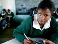 Girls and young women in sub-Saharan Africa overcome barriers to education